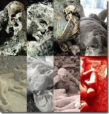 Gambar mayat Pompeii